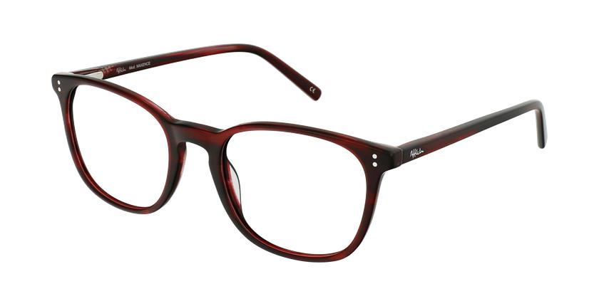 Óculos graduados homem MAXENCE RD (TCHIN-TCHIN +1€) vermelho - vue de 3/4