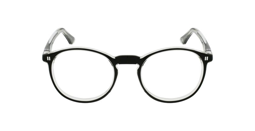 Óculos graduados criança REFORM TEENAGER (J4BK) preto - Vista de frente