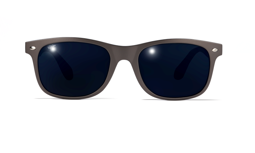 Lunettes de soleil homme CARUCEDO gris