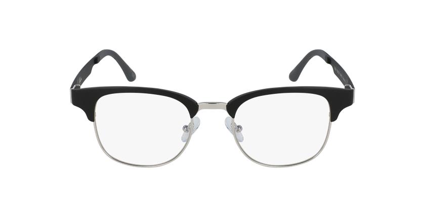 Óculos graduados MAGIC 34 BK BLUEBLOCK - BLOQUEIO LUZ AZUL preto/prateado - Vista de frente