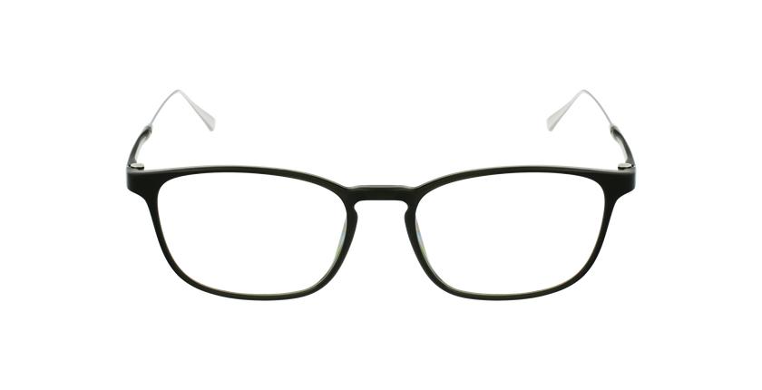Óculos graduados homem MAGIC 68 GR verde/prateado - Vista de frente