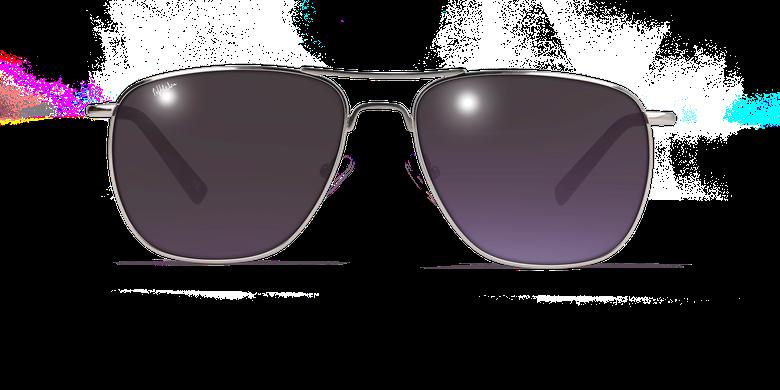 Lunettes de soleil homme SAH4855 argenté