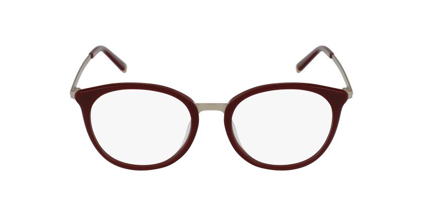 Lunettes de vue STAWINSKI rouge - Vue de face