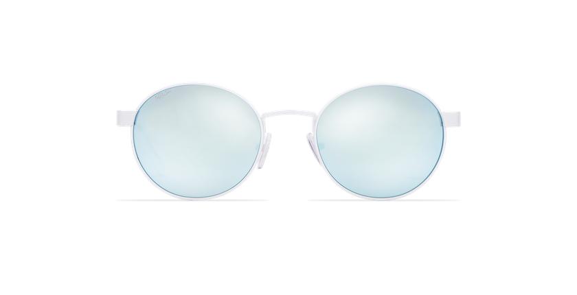 Óculos de sol senhora TUTTI branco - Vista de frente