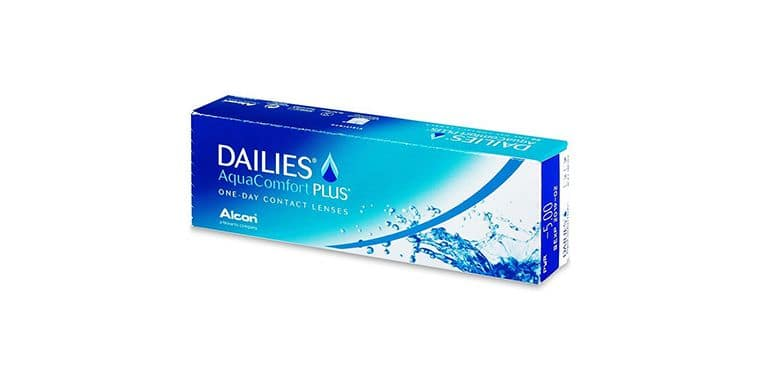 Lentilles de contact Dailies AquaComfort Plus 30L