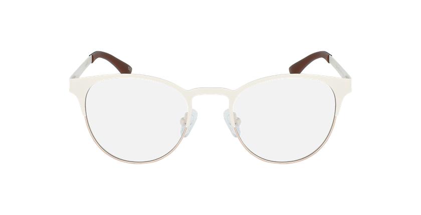 Óculos graduados senhora MAGIC 44 BLUEBLOCK - BLOQUEIO LUZ AZUL branco/cinzento - Vista de frente
