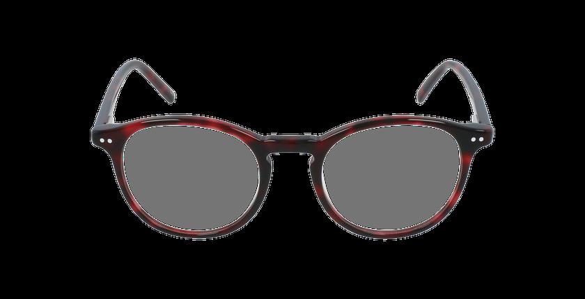 Lunettes de vue enfant MAE rouge - Vue de face