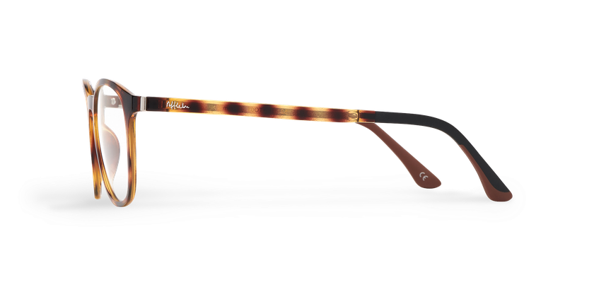 Óculos graduados homem MAGIC 25 TO01 BLUEBLOCK - BLOQUEIO LUZ AZUL tartaruga  - Vista lateral