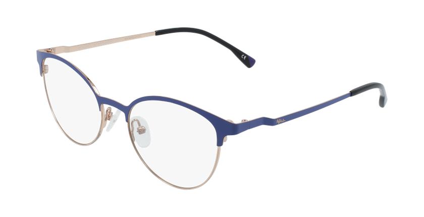 Óculos graduados senhora MAGIC 54 BLUEBLOCK - BLOQUEIO LUZ AZUL violeta/dourado - vue de 3/4
