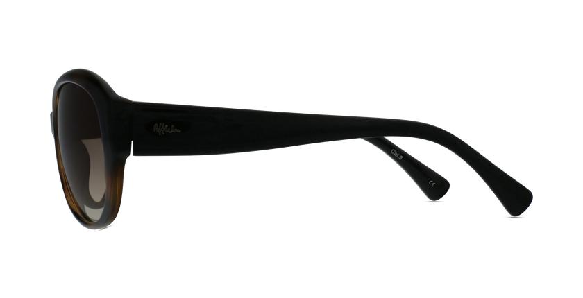 Óculos de sol senhora MARTINA TO tartaruga /preto - Vista lateral