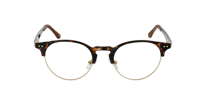 Óculos graduados MAGIC 93 TO ECO FRIENDLY tartaruga/dourado - Vista de frente
