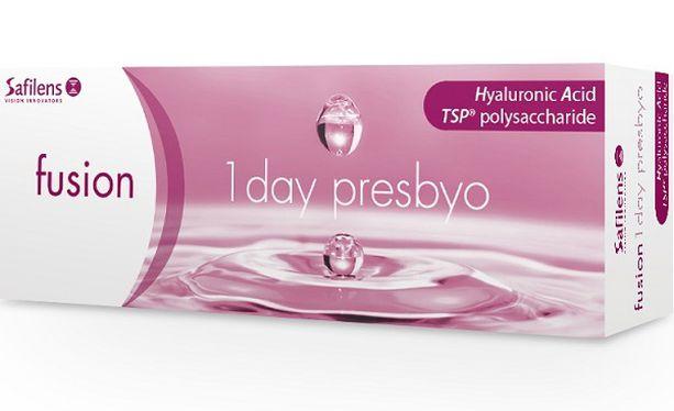 Lentilles de contact Fusion 1Day Presbyo 30L - Vue de face