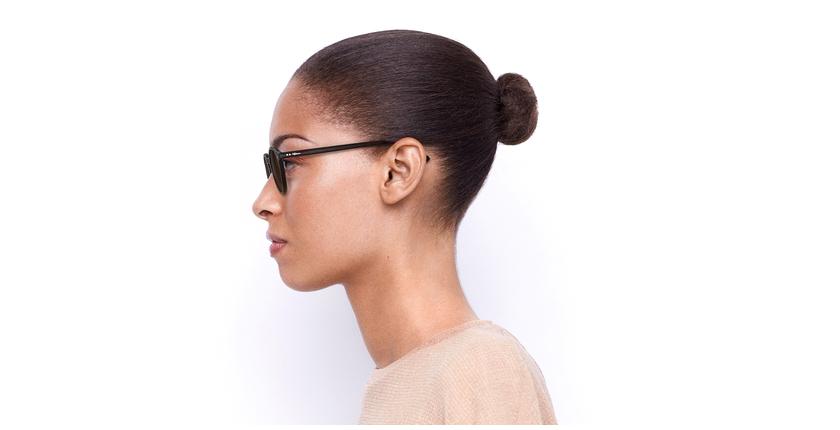 Óculos de sol LOIS RD vermelho/vermelho - Vista lateral