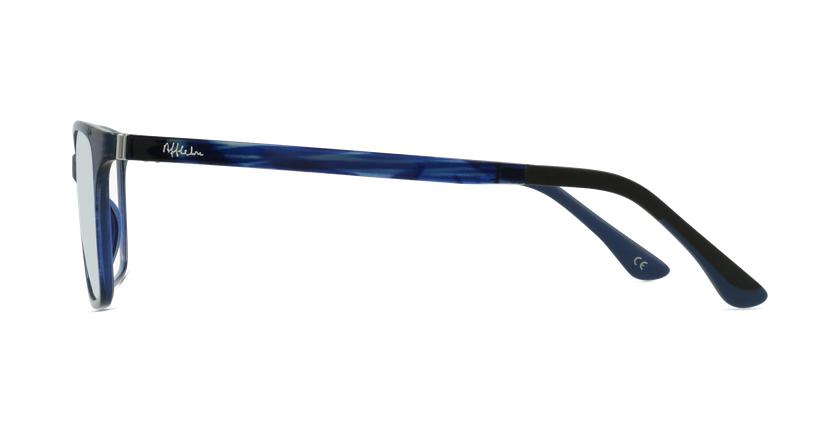 Lunettes de vue femme MAGIC 60 BLUEBLOCK bleu/violet - Vue de côté