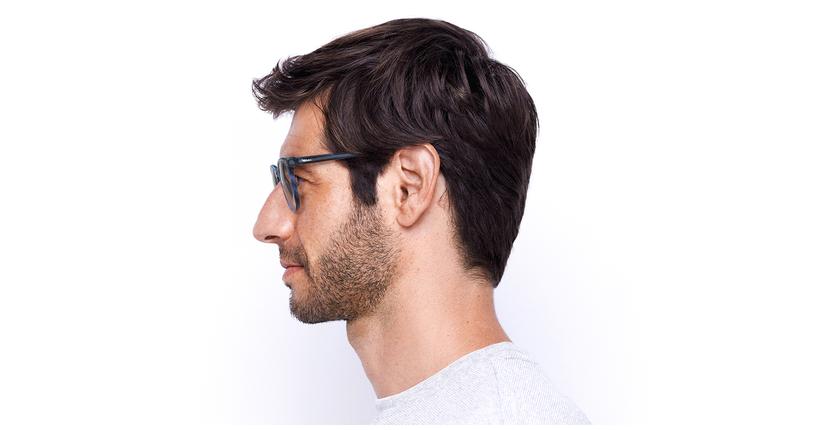 Óculos graduados homem MAXENCE BL (TCHIN-TCHIN +1€) azul - Vista lateral