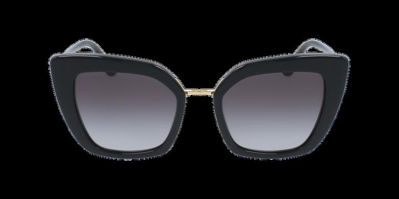 Lunettes de soleil femme DG4359 noirVue de face