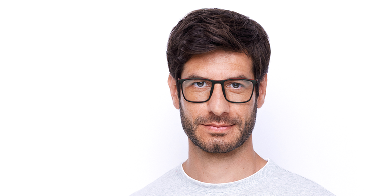 Óculos graduados homem MALO BK (TCHIN-TCHIN +1€) preto/vermelho