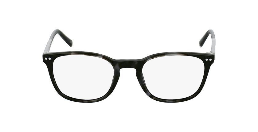 Lunettes de vue VERDI gris - Vue de face