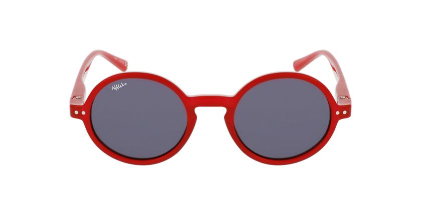 Óculos de sol criança COMO RD vermelho - Vista de frente