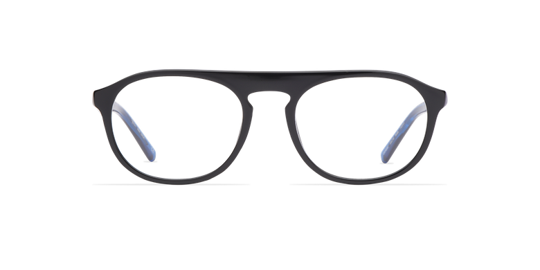 Óculos graduados homem ZACK BK (TCHIN-TCHIN +1€) preto/azul