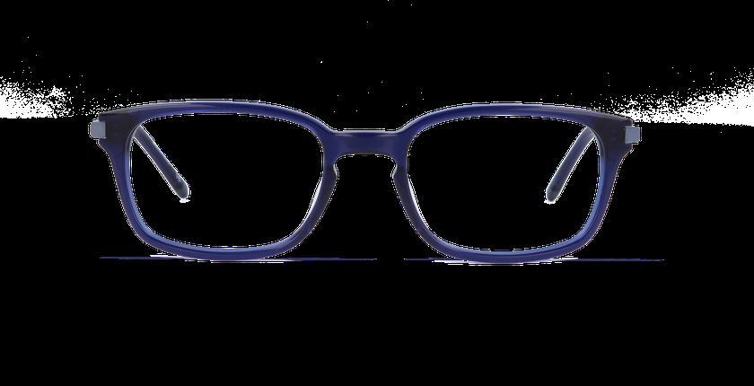 Gafas graduadas hombre RODIN azul - vista de frente