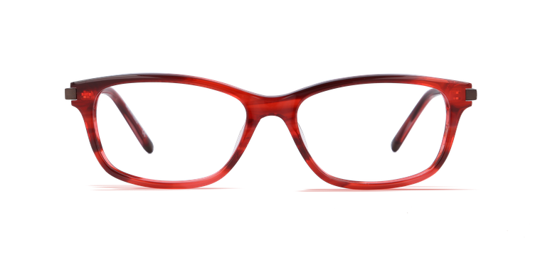 Óculos graduados senhora VICTOIRE vermelho