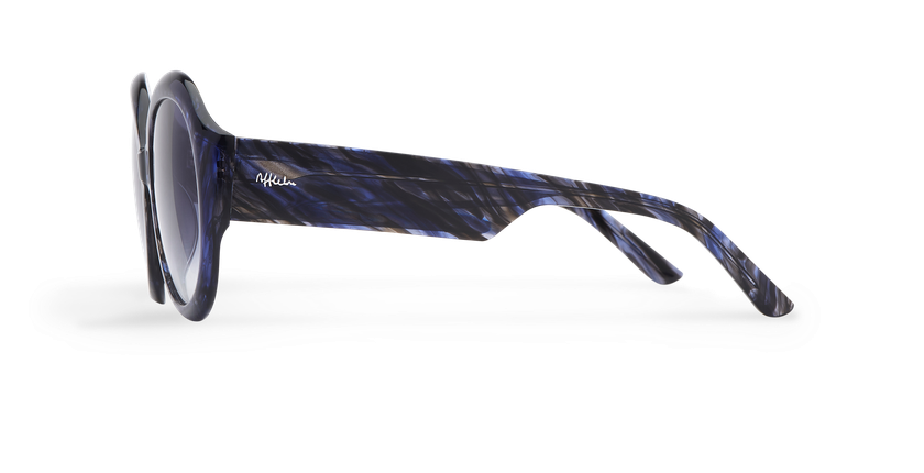 Óculos de sol senhora NAOMIE BL azul - Vista lateral