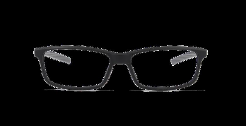 Gafas graduadas hombre ALBERTO negro - vista de frente