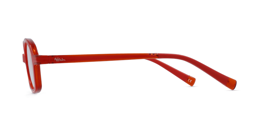 Lunettes de vue enfant RFOM2 rouge/orange - Vue de côté