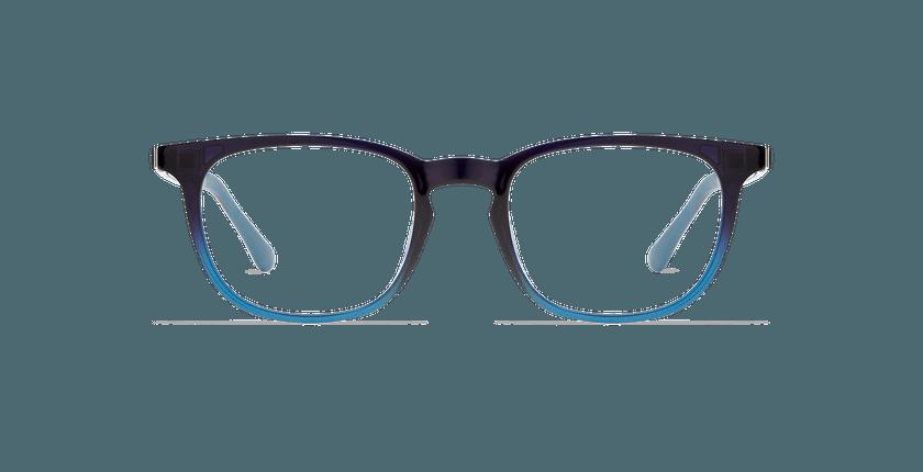 Lunettes de vue homme SMART TONIC 07 bleu/bleu dégradé - Vue de face
