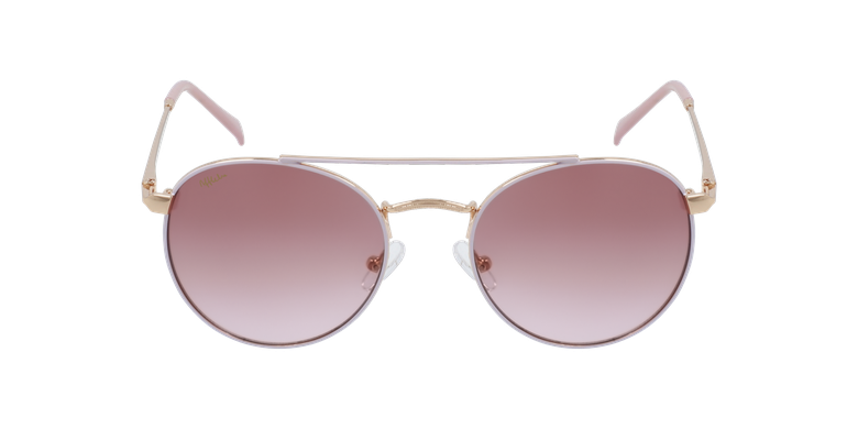 Lunettes de soleil enfant SANTIAGO rose/doré