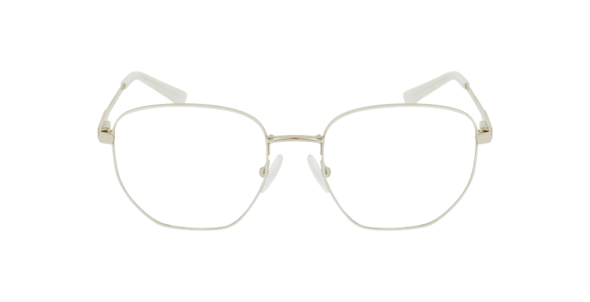 Óculos graduados senhora ERIN WH (TCHIN-TCHIN +1€) branco - Vista de frente