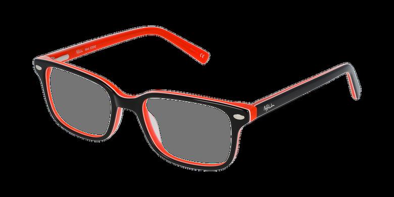 Lunettes de vue enfant EDDIE noir/orange