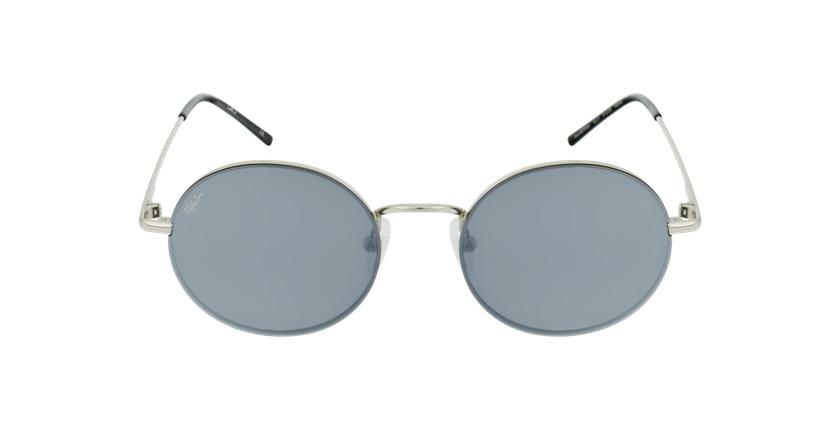 Óculos de sol BERNIA SL prateado - Vista de frente