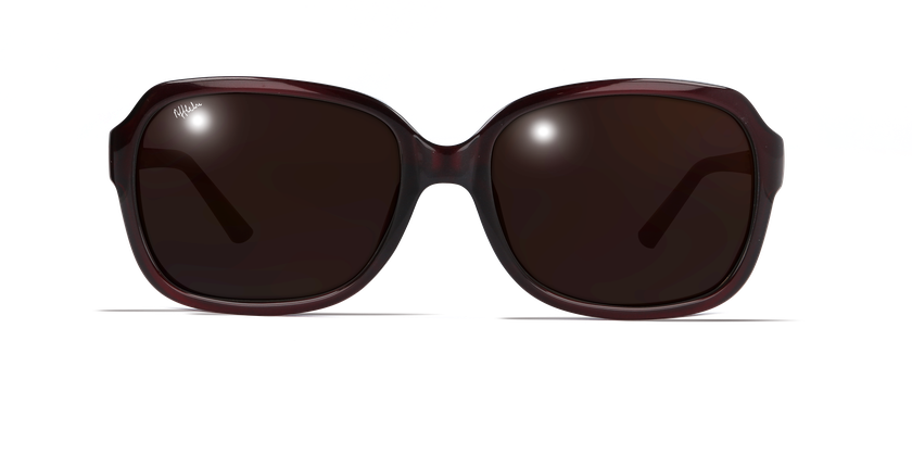 Gafas de sol mujer CAROLINA rojo - vista de frente