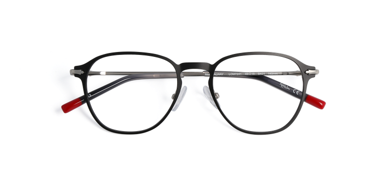 Óculos graduados homem LOM7241 preto