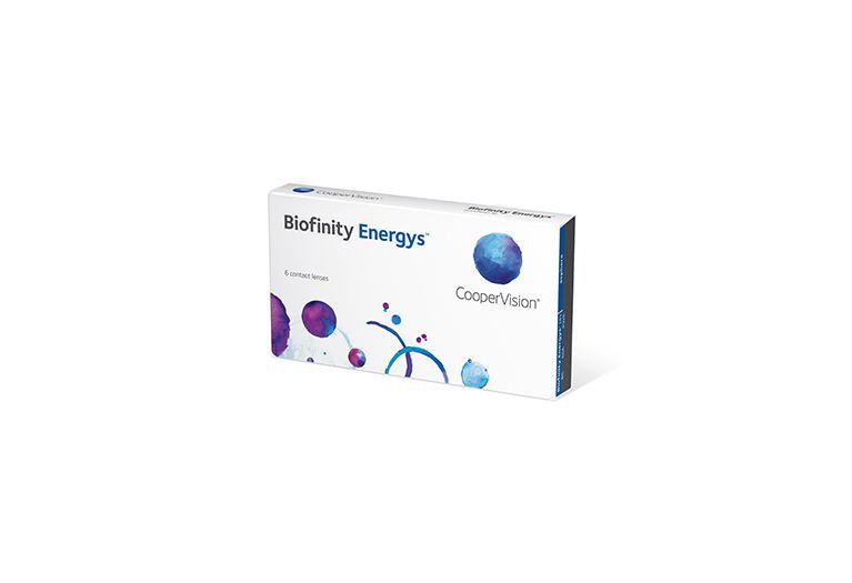 Lentilles de contact Biofinity Energys 6L