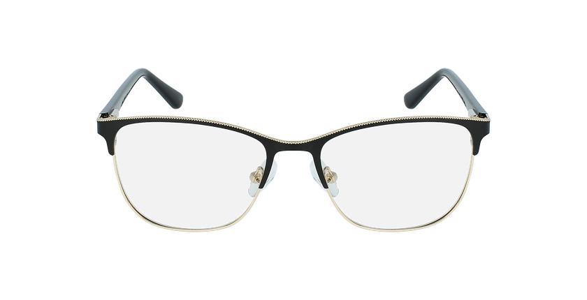 Óculos graduados senhora ALAIS BK (TCHIN-tCHIN +1€) preto - Vista de frente