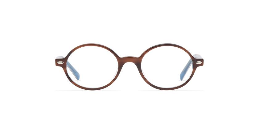 Óculos graduados criança LAYAN TO tartaruga /azul - Vista de frente