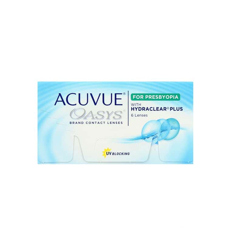 Lentilles de contact Acuvue® Oasys® for Presbyopia HIGH