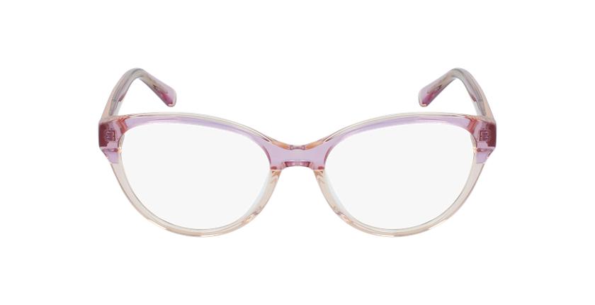 Lunettes de vue femme OAF20522 rose - Vue de face