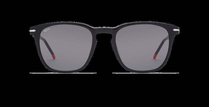 Gafas de sol hombre HUNTER negro - vista de frente