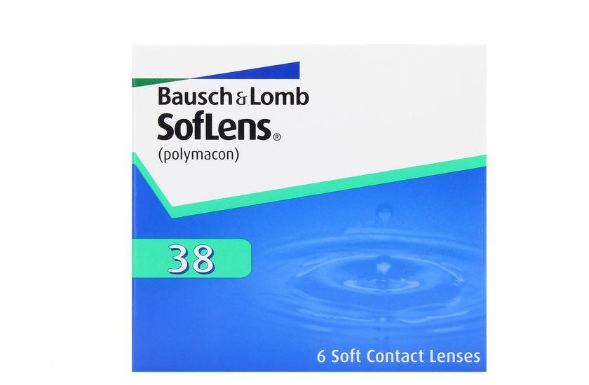 Lentilles de contact SofLens 38 6L - danio.store.product.image_view_face