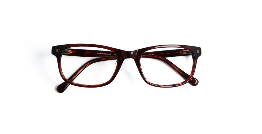 Óculos graduados homem PARKLANE tartaruga /vermelho - Vista de frente