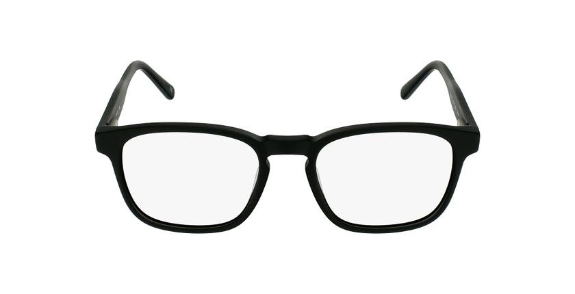 Óculos graduados homem CLOVIS BK (TCHIN-TCHIN +1€) preto - Vista de frente