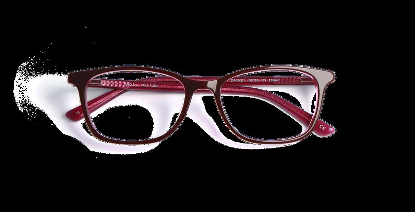 lunettes de vue aude rouge afflelou. Black Bedroom Furniture Sets. Home Design Ideas
