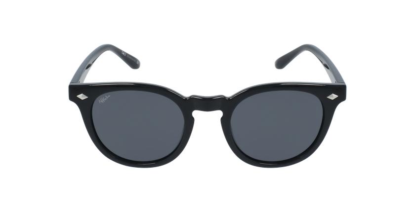 Óculos de sol GETAFE BK preto - Vista de frente