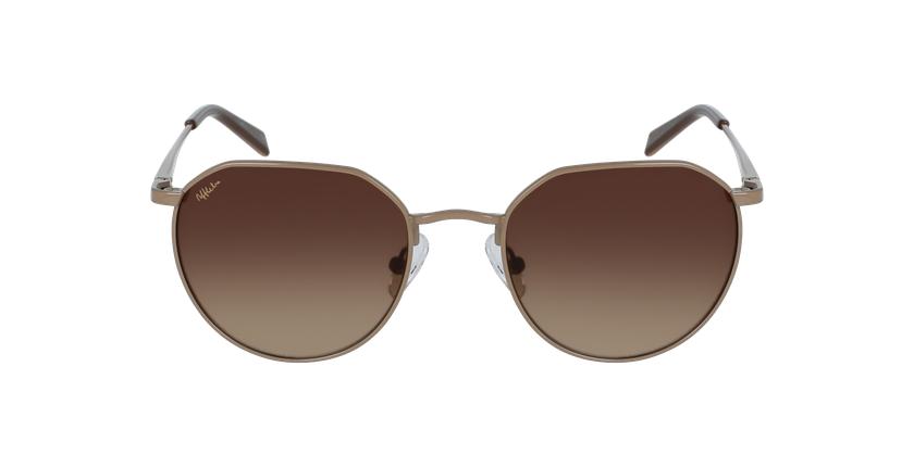 Óculos de sol Jazz br castanho - Vista de frente