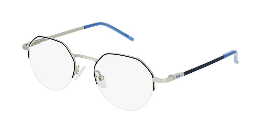 Óculos graduados senhora LAM BL (TCHIN-TCHIN +1€) azul/dourado - vue de 3/4