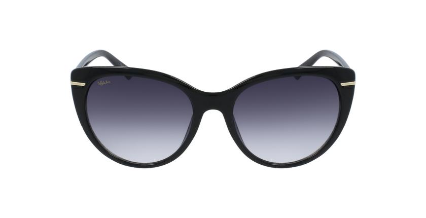 Lunettes de soleil femme ALBA noir - Vue de face